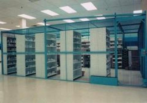 Evidence Storage Enclosures, Wire Security Enclosures, Property Rooms